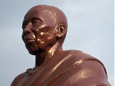 Statue of Nana Yaa Asantewaa